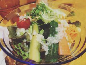 醤の発酵サラダ