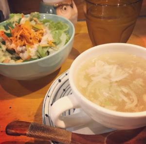 発酵サラダと発酵スープ