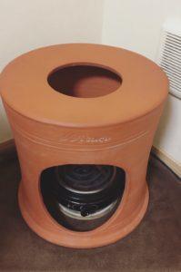 韓国発祥の健康法「よもぎ蒸し」の椅子型の機器